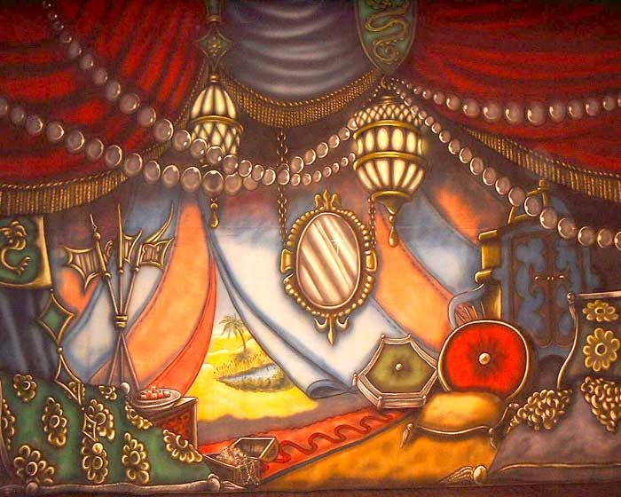 Aladdin Set Design