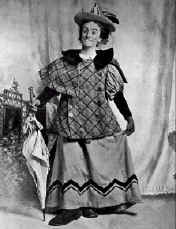 Dan Leno as The Baroness in Cinderella